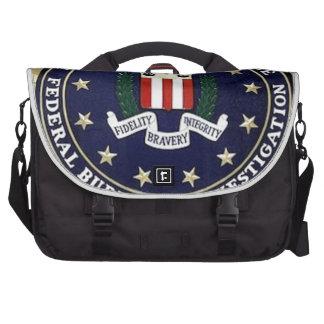 FBI Emblem Laptop Commuter Bag