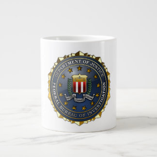 FBI Emblem Large Coffee Mug