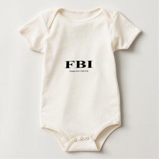 FBI. female Body inspector Bodysuit