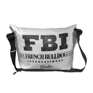 FBI FRENCH BULLDOG INT. COMMUTER BAG