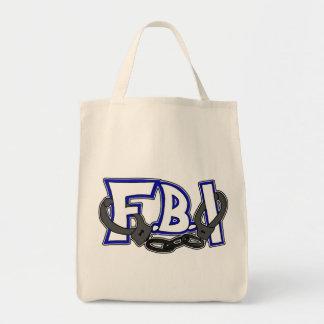 FBI Handcuffs Canvas Bag