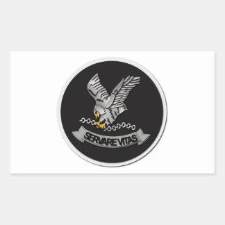 FBI Hostage Rescue Team without Text Rectangular Sticker