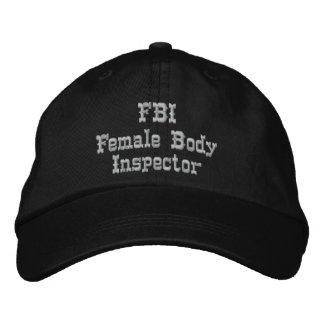 FBI Humor Hat Embroidered Baseball Cap