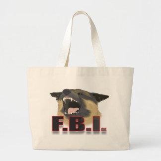 FBI JUMBO TOTE BAG