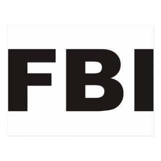 FBI Products & Designs! Postcard