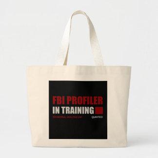 FBI Profiler in Training Jumbo Tote Bag