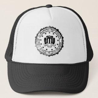 FBI Rubber Stamp Trucker Hat
