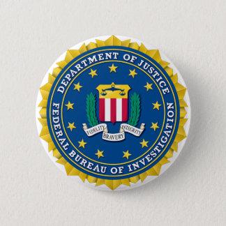 FBI Seal 6 Cm Round Badge