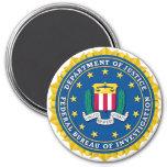FBI Seal 7.5 Cm Round Magnet