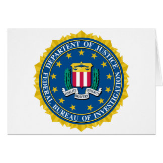 FBI Seal Card