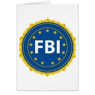 FBI Seal Card