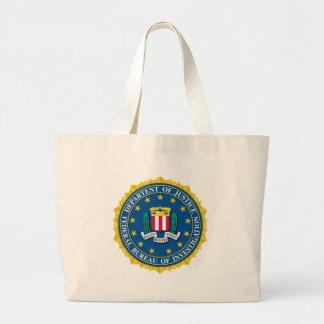 FBI Seal Jumbo Tote Bag