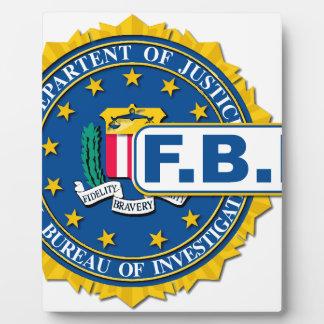 FBI Seal Mockup Display Plaque
