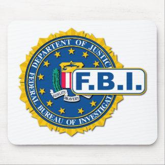 FBI Seal Mockup Mouse Pad