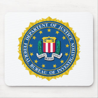 FBI Seal Mouse Mat