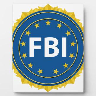 FBI Seal Photo Plaque