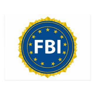 FBI Seal Postcard