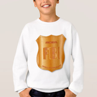 FBI Spoof Shield Badge Sweatshirt