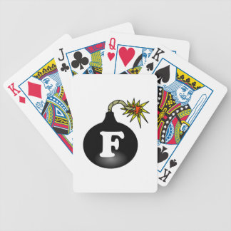 FBomb Classic Bicycle Card Deck