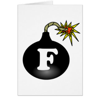 FBomb Classic Greeting Cards