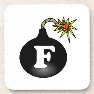 FBomb Classic Beverage Coaster