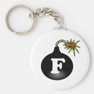 FBomb Classic Keychain