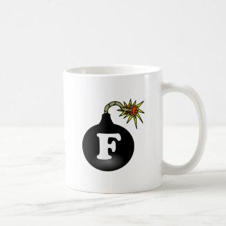 FBomb Classic Classic White Coffee Mug