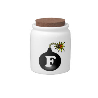 FBomb Classic Candy Jar