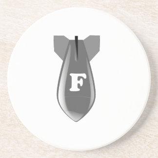 FBomb Beverage Coaster