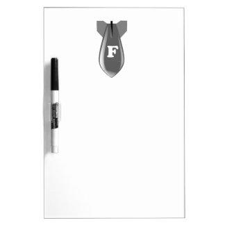 FBomb Dry-Erase Whiteboards