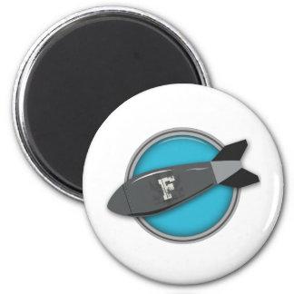 FBomb 6 Cm Round Magnet