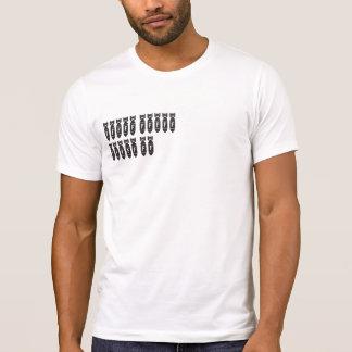 FBOMB MISSIONS WHITE T SHIRT