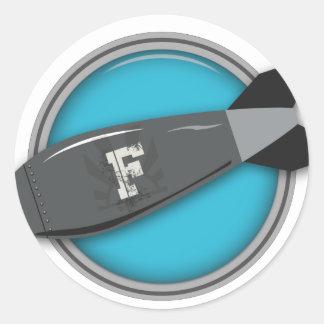 FBomb Round Sticker