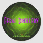 FD Boogy Sticky Round Sticker