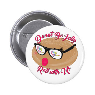 FD Donut Be Jelly Button
