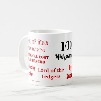 FD Nicknames! Rude Finance Director Mug