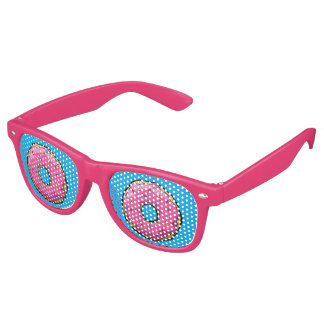 FD Pink Donut Party Glasses
