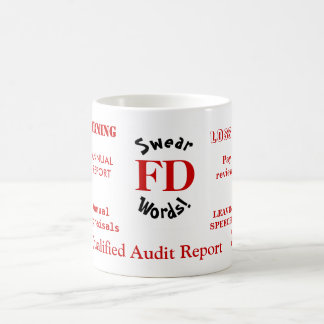 FD Swear Words Annoying Funny Finance Director Coffee Mug