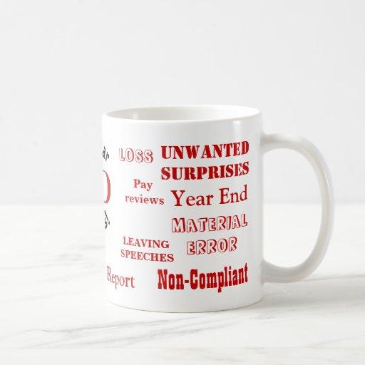 FD Swear Words! - Finance Director Insults Mug