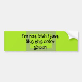 FDL irish Bumper Sticker