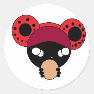 FDL Yummy Round Sticker