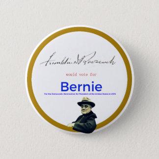 FDR for Bernie Sanders 6 Cm Round Badge