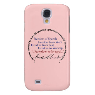 FDR Four Freedoms Tribute Samsung Galaxy S4 Case