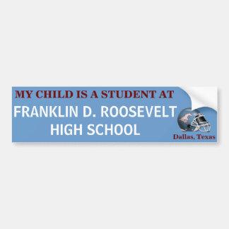 FDR Mustang - My Child/Bumper Sticker Bumper Sticker