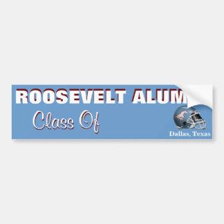 FDR Mustangs Alumni - Customizable Bumper Sticker