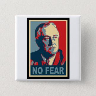 FDR No Fear 15 Cm Square Badge