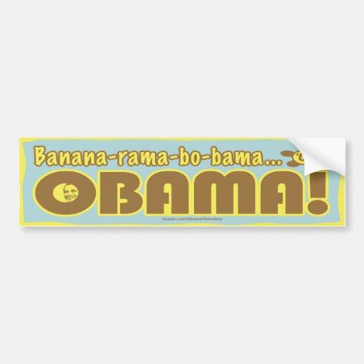 Fe Fi Fo Obama Bumper Sticker