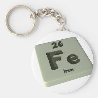 Fe Iron Keychains