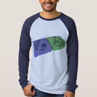 Feal as Fe Iron and Al Aluminium Tee Shirts