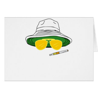 Fear and Loathing In Las Vegas Raoul Duke Greeting Card